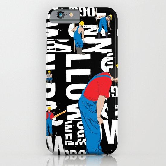 TYPE MAN iPhone & iPod Case