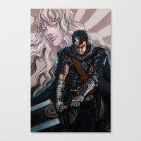 Dark and Light Canvas Print