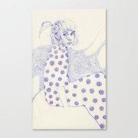 Flowery Canvas Print