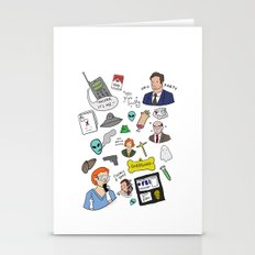 The X-Files Stationery Cards