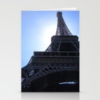 The Eiffel Tower Stationery Cards