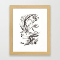 Feather Lover Framed Art Print