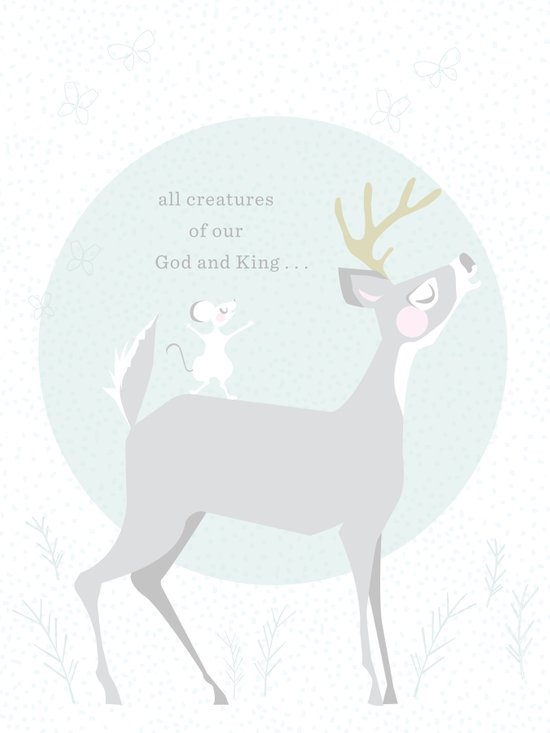 Deer Singing Art Print