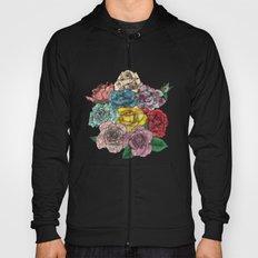 Flowers in Roses Hoody
