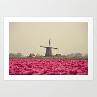 Postcard from Netherland Art Print