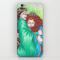 Merida And Elinor iPhone & iPod Skin