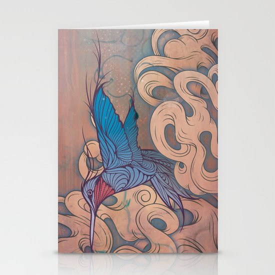 The Aerialist Stationery Card
