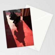 Groovy shadow Stationery Cards