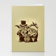 Stationery Cards featuring A (very) Long Time Ago by VINTZ