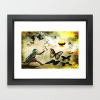 Celebration  Of Life Framed Art Print