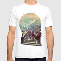 La Vie Mens Fitted Tee White SMALL