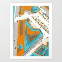 Ground #01 Art Print