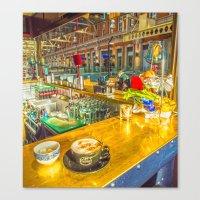 COFFEE BREAK WATERLOO ST… Canvas Print