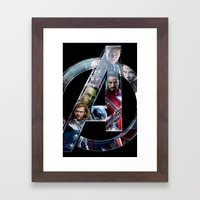 The Avengers 2 Framed Art Print