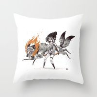 Kludde Throw Pillow