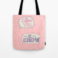 Conceited Valentine Tote Bag