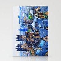 Edinburgh Rooftops  Stationery Cards