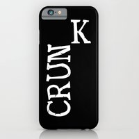 iPhone & iPod Case featuring crunk by chris sheehan