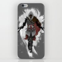 iPhone & iPod Skin featuring Assasins Grey by thoregan