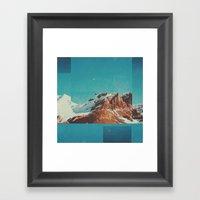 Fractions A39 Framed Art Print
