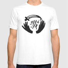 good job Mens Fitted Tee White SMALL