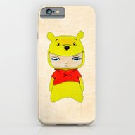 iPhone & iPod Case featuring A Boy - Winnie-the-Pooh by Christophe Chiozzi