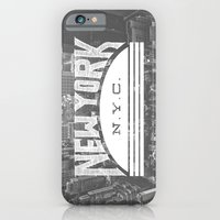 nyc iPhone & iPod Cases featuring NYC by Zeke Tucker
