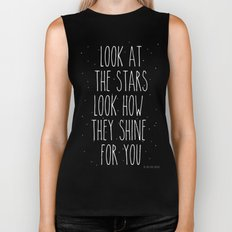 Look How They Shine For You Biker Tank