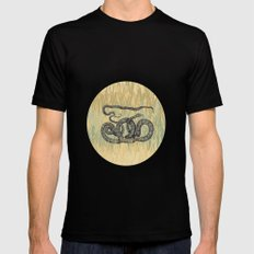 Python ~ The Summer Series Black SMALL Mens Fitted Tee