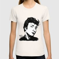 Teddy Boy JL Womens Fitted Tee Natural SMALL