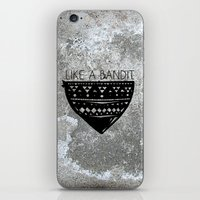 Like a Bandit iPhone & iPod Skin