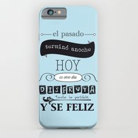 ¡Vive el presente! iPhone 6 Slim Case