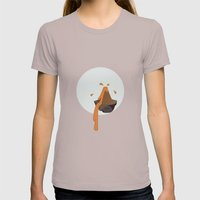 Volcano Womens Fitted Tee Cinder SMALL