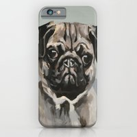 iPhone & iPod Case featuring Pug by Jamie Gee