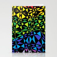CRAZY COLOR Stationery Cards