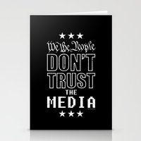 WE THE PEOPLE DON'T TRUS… Stationery Cards