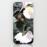 White Camellia iPhone 6 Slim Case