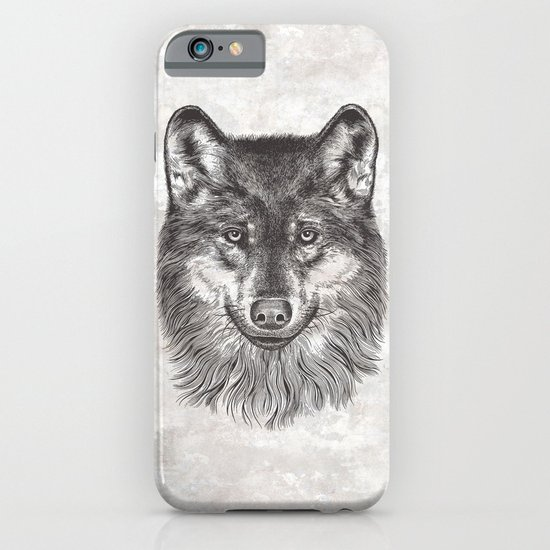 Canis Lupus (Gray Wolf) iPhone & iPod Case