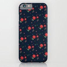 Classic western rose pattern  iPhone 6s Slim Case