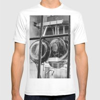 New Orleans - Window To … Mens Fitted Tee White SMALL