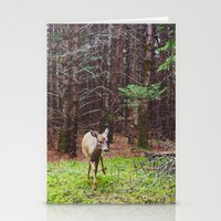 Deer 2.  Stationery Cards