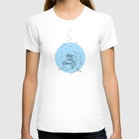 Sea. Womens Fitted Tee White SMALL