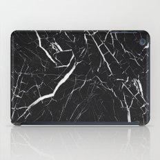 Black Marble  iPad Case