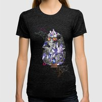 Tuts Formation Womens Fitted Tee Tri-Black SMALL