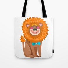 Lion Cartoon  Cute Tote Bag