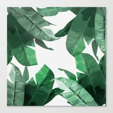 Tropical Palm Print Canvas Print
