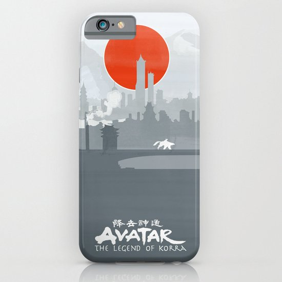 Avatar The Legend of Korra Poster iPhone & iPod Case