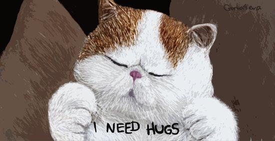 Hugs! Art Print