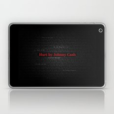 Hurt by Johnny Cash Laptop & iPad Skin