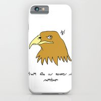 iPhone & iPod Case featuring The Eagle and England by Joe Hilditch